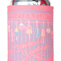 Lauren James Boats And Floats Koozie
