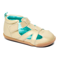 Carters Gold & Green Stage 2 Bia Leather Sandal   zulily