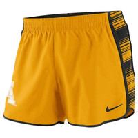 Appalachian State Mountaineers Nike Women's Dri-FIT® Pacer Shorts – Gold