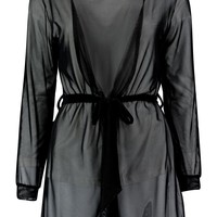 Millie Midi Length Sheer Robe