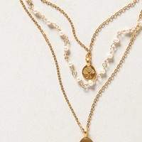 Lotus Layered Necklace