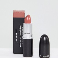 MAC Matte Lipstick - Velvet Teddy at asos.com