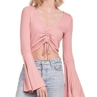Leia Rouch Front Crop Top