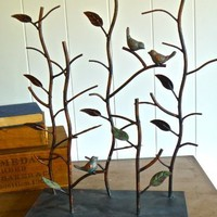 Cathy- Bird Jewelry Stand Tree Display Organizer- great for shop display, home decor