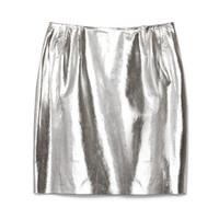 Lambskin Straight Skirt by Wes Gordon for Preorder on Moda Operandi