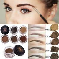 Hot Selling 5 Colors Natural Long lasting Pomade Brow Waterproof Eyebrow Liner Eyes Cosmetic