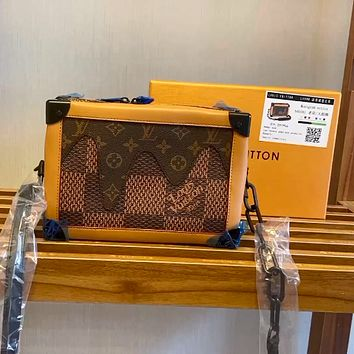 LV 2020 new ESSENTIAL TRUNK handbag small box shoulder messenger bag
