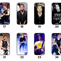 LUK - Luke Hemmings Collection - Luke - Lucas - 5SOS - 5 Seconds of Summer - iPhone 4 / iPhone 4S / iPhone 5 / iPhone 5C / iPhone 5S