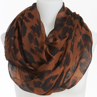 David & Young Animal Print Infinity Scarf   Nordstrom