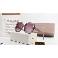 DIOR tide brand men and women retro square sunglasses ocean lens polarizer #4