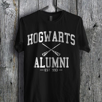 Harry Potter Hogwarts Alumni - zFz Unisex T- Shirt For Man And Woman / T-Shirt / Custom T-Shirt