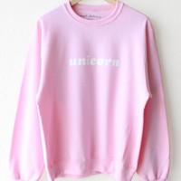 Unicorn Oversized Sweatshirt
