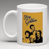 The Golden Girls STAY GOLDEN Coffee Mug Tea Cup Gift