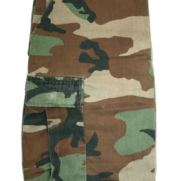 Vintage Military Issue Camouflage Pants Mens Size 27 - 31