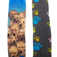 Puppies & Paws Sock 2-Pack