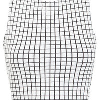 Windowpane Wrap Back Top - View All - New In
