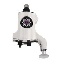 High Quality A200 Silver/Purple Rotary Tattoo Machine Bishop Style Professional Tattoo Machine For Liner & Shader