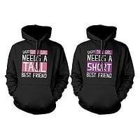 BFF Accessories BFF Pullover Hoodies for Tall and Short Best Friends