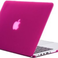 """Kuzy - Retina 13-Inch RASPBERRY PINK Rubberized Hard Case Cover for Apple MacBook Pro 13.3"""" with Retina Display Models: A1502 and A1425 (NEWEST VERSION) - RASPBERRY PINK: Amazon.ca: Electronics"""