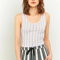 Pins And Needles Ladder Stitch Tank Top Tank | Urban Outfitters