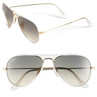 Ray-Ban Aviator 58mm Sunglasses