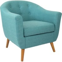 Rockwell Accent Chair, Teal