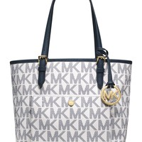 MICHAEL Michael Kors Jet Set Medium Snap Pocket Tote