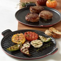 Le Creuset Bistro Cast-Iron Round Grill