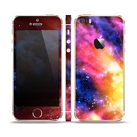 The Super Nova Neon Explosion Skin Set for the Apple iPhone 5s