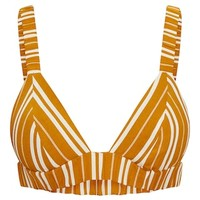 Mustard Formal Stripe Bralet