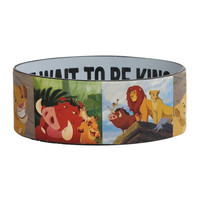Disney The Lion King Can't Wait To Be King Rubber Bracelet