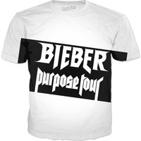 Justin Bieber Purpose Tour Shirt