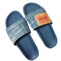 denim slides