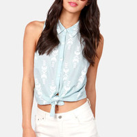Hot and High Lace-ted Ivory Lace Jean Shorts