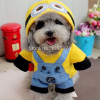 """Bob The Minion"" Dog Cat Pet Walking Costume"