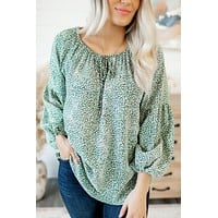 Confidence Is Key Blouse (Olive)