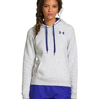 Under Armour Women's UA Rival Cotton Hoodie Medium WARM GRAY HEATHER