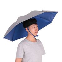 Outdoor Cycling Fishing Hiking Beach Camping Women Men Kid Sunshade Sunny Rainy Anti-UV Umbrella Hat Cap Portable YS100