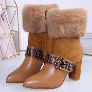 Fendi Middle boots and boots