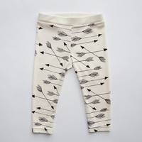 Arrows Organic Leggings in Natural