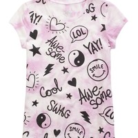 COLOR CHANGING GRAPHIC TEE   GIRLS NEW MARKDOWNS SALE   SHOP JUSTICE