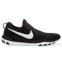 Nike - Free Connect Mesh Sneakers - Black