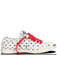 Converse - Jack Purcell Polka Dot Low Profile - Slip - White/Navy