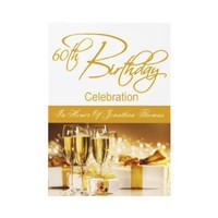 60th Birthday Party Personalized Invitation from Zazzle.com