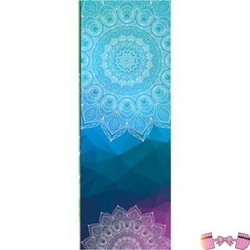 New Issue Retro style Yoga Mat Towel Sport Fitness Gym Exercise Pilates Workout Portable Training Cover Blanket Soft Towel