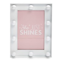 Marquee Light Picture Frame