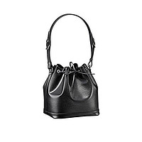 LV Authentic Louis Vuitton Epi Leather Petit Noe NM Shoulder Bag Handbag Noir Article: