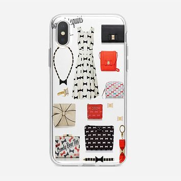 Bows And Sequins_Kate Spade New York iPhone XS Case