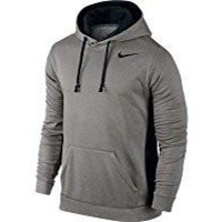 Men's Nike KO Hoodie 3.0 Grey Heather/Black Size Small