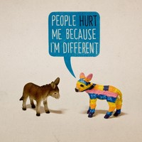 """""""Born This Way"""" - Art Print by Aled Lewis"""